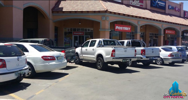 Parking Thieves at the North Cape Mall in Kimberley December 2013