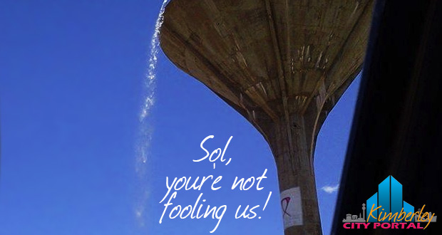 Kimberley Water Crisis: Sol you're not fooling us