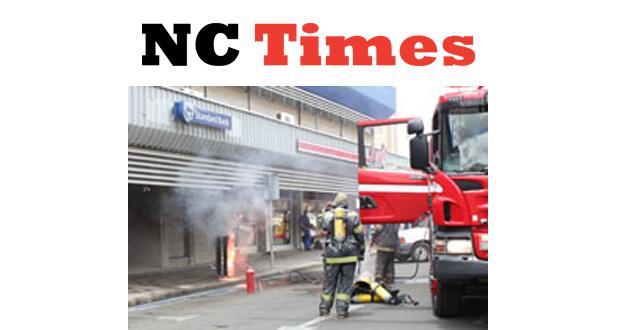 Standard Bank Chapel Street Kimberley Fire