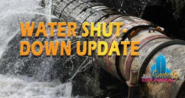 Kimberley - Sol Plaatje Municipality - Water Shutdown Notice
