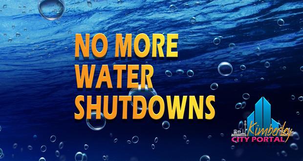 Kimberley Water shutdowns suspended