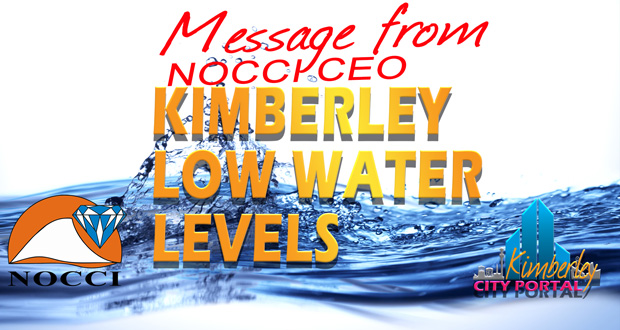 Kimberley Water Crisis Message from NOCCI