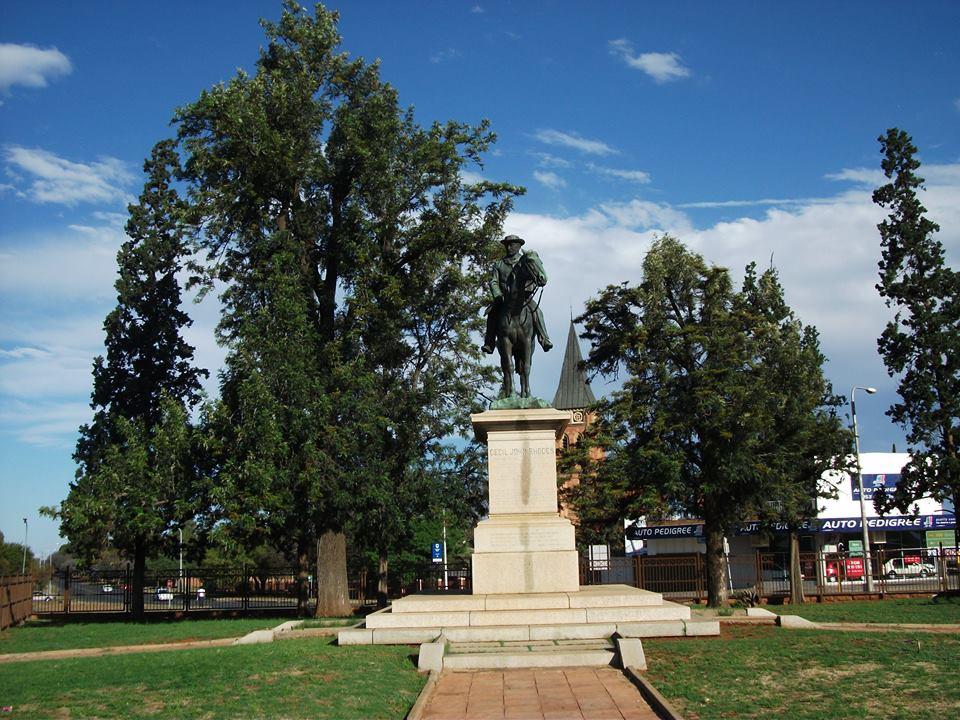 Today in Kimberley's History 26 November Cecil John Rhodes Horse