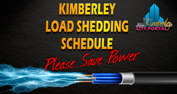 Load Shedding Schedule for Kimberley and Sol Plaatje Municipality
