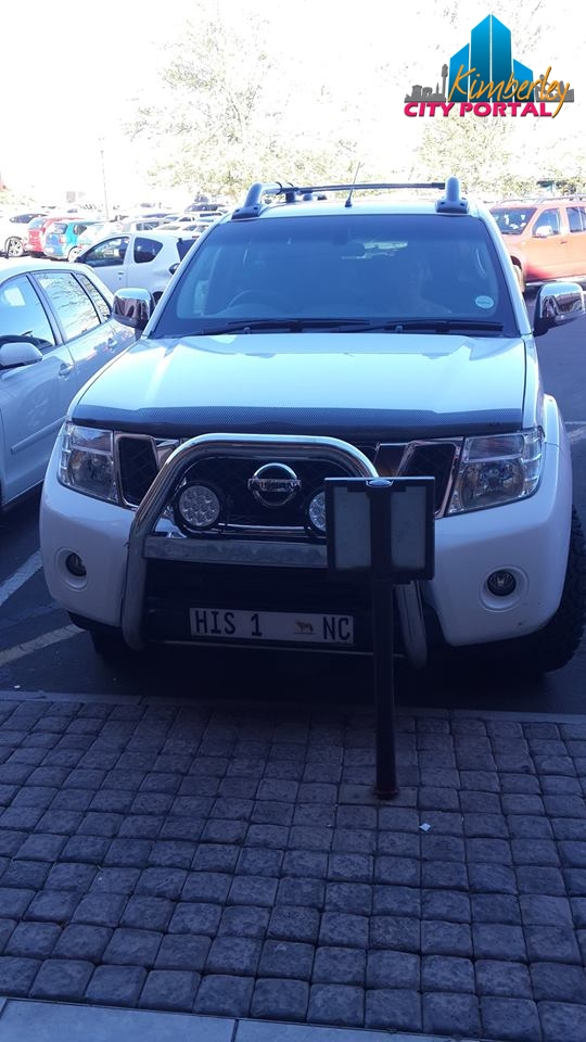 20141128 Disabled Parking Thieves-North Cape Mall Kimberley