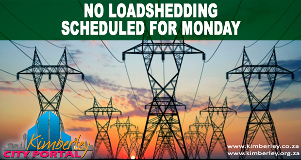 Kimberley Sol Plaatje Loadshedding update