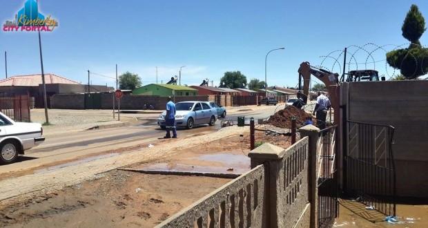 Galeshewe Kimberley water outage 22/12/2014