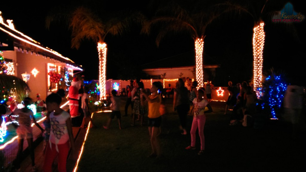 Marais Family Christmas Lights in Kimberley