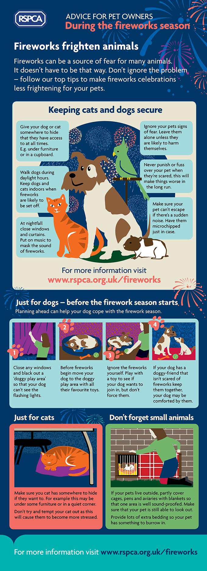 How to Keep your pets safe during the fireworks season
