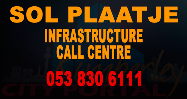 How to log faults at Sol Plaatje Municipality