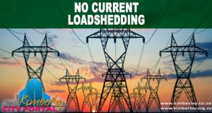 Kimberley Sol Plaatje No active / current loadshedding