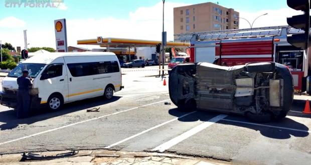 Kimberley - Accident Bulftonein & Angel Street