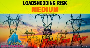 Kimberley Sol Plaatje Municipality Loadshedding / Beurtkrag medium risk