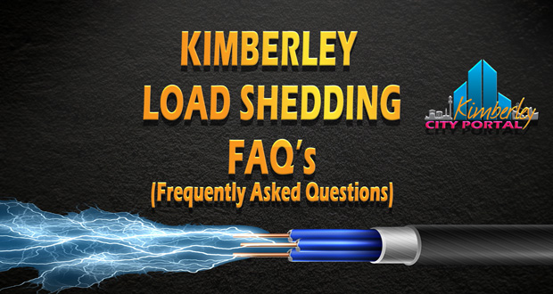 Kimberley Load Shedding FAQ's