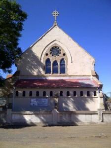 All Saints Church from the Noordkaap newspaper
