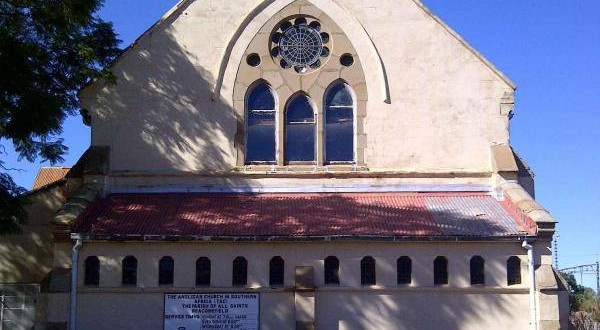 All Saints Church from the Noordkaap newspaper