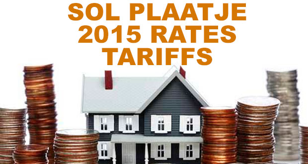 Kimberley Sol Plaatje Municipality 2015 Rates & Tariffs