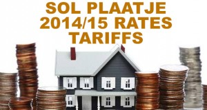 Sol P:laatje 2014 2015 Rates and tariffs