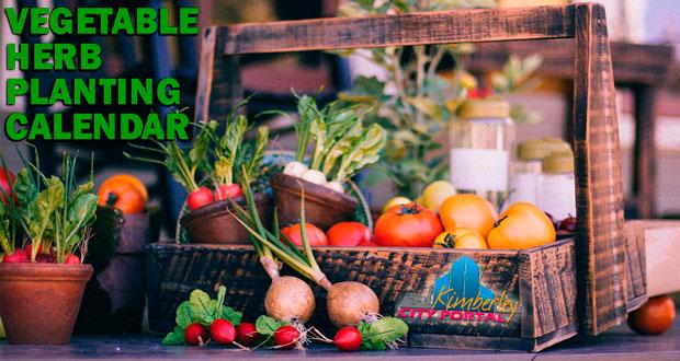 Kimberley Vegetable and Herb Planting & Sowing Calendar