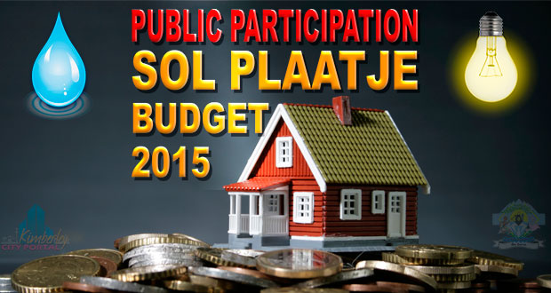 Kimberley Sol Plaatje Municipality 2015 Budget Public participation Meetings