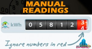 How to read and manually submit water and electricity readings to Sol Plaatje Municipality.