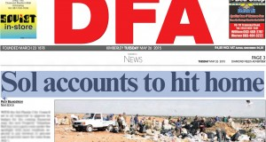 DFA 2015-05-26 - Kimberley Sol Plaatje Municipal Accounts to hit hom