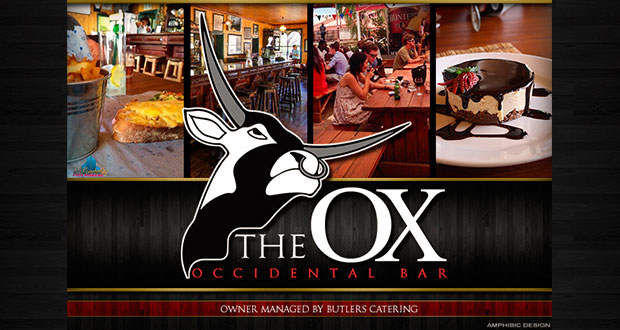 Menu for the Occidental Bar and Restaurant