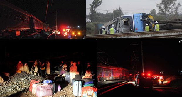 Breaking News - Train-derailed at Modderrivier near Kimberley