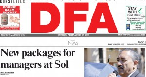 Today in the DFA - New packages for manager al Sol Plaatje Municipality