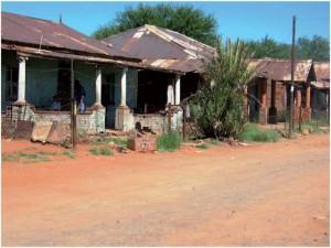 Houses in No 2 Location Galeshewe Kimberley