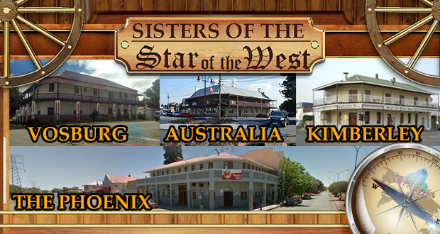 The sisters of the Star of the West pub in Kimberley, Vosburg, Australia