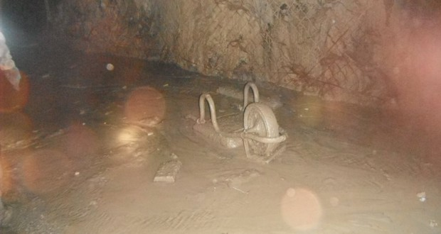 TODAY IN KIMBERLEY'S HISTORY Two miners die in a mud rush in the De Beers Mine, 1901