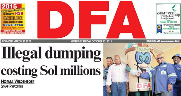 Illegal Dumping Sol Plaatje Municipality - The DFA 23/10/2015
