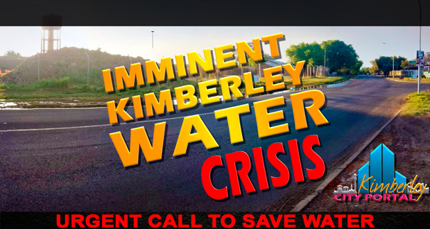 Imminent Water Crisis in Kimberley November