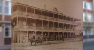 9 November in Kimberley's History - Savoy Hotel Burns Down