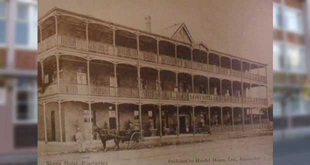 9 November in Kimberley's History - Savoy Hotel Burns Down