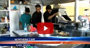 Fusion Gardens on SABC News - Fusions Galeshewe Kimberley