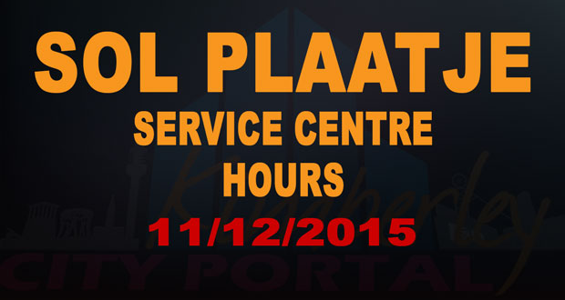 Sol Plaatje Service Centre Hours