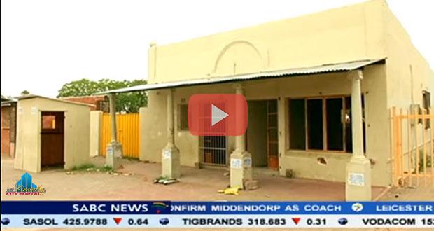 Kimberley Heritage - Law offices of Robert Sobukwe Vandalized