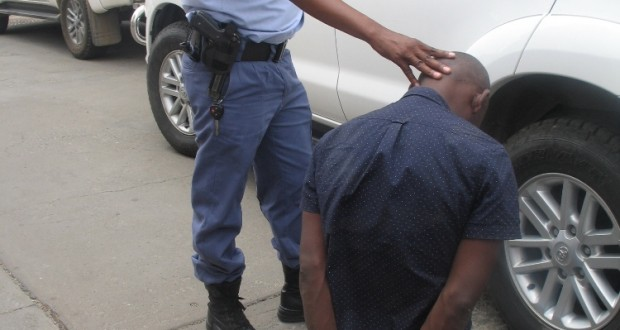 SAPS - Man Arrested for CBD Vehicle Break-In