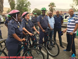 Thirty new bicycles for SAPS Northern Cape