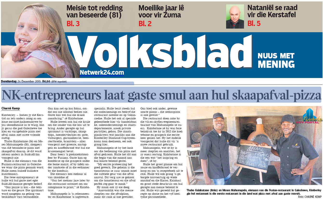 PT-Fusion-Gardens_Volksblad-Front_Page-20151224