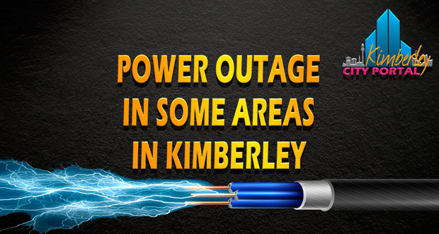 Power outages some parts of Kimberley