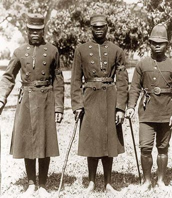 Kimberley Police in the 1890's - Today in Kimberley's History