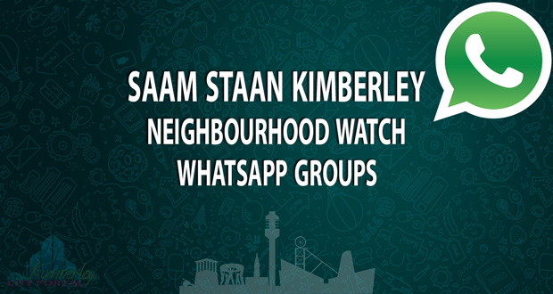 Kimberley Neighbourhood Watch Groups - Saam Staan Kimberley