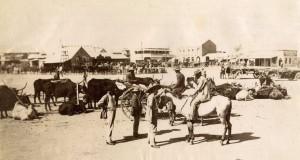 Kimberley Market Square 1885