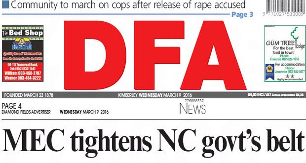 The DFA Today - 20160309