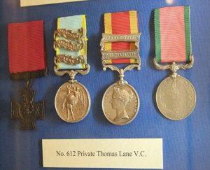 PT_Thomas_Lane_VC-Medals-1889