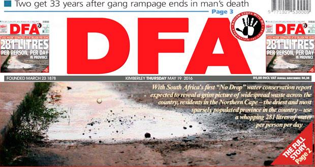 The DFA Today - 20160519