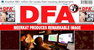 The DFA Today - 20160525